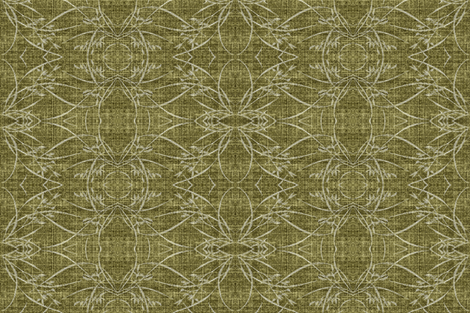 wild grasses - green fabric by materialsgirl on Spoonflower - custom fabric