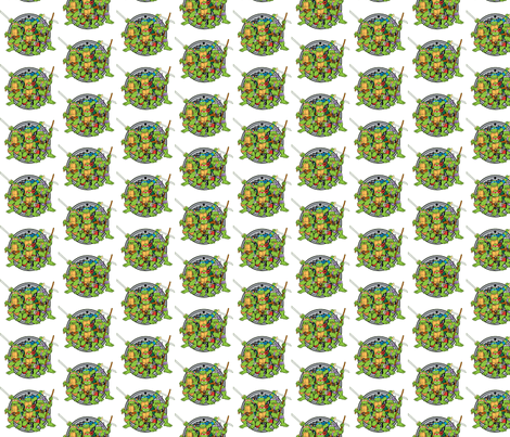Teenage Mutant Ninja Turtles fabric by nerdbaitplus3 on Spoonflower - custom fabric