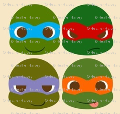 Cute Ninja Turtles