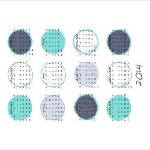 2014 Dot Calendar