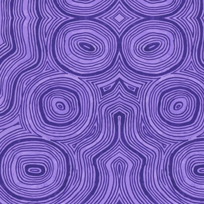 Purple Two Color Fun