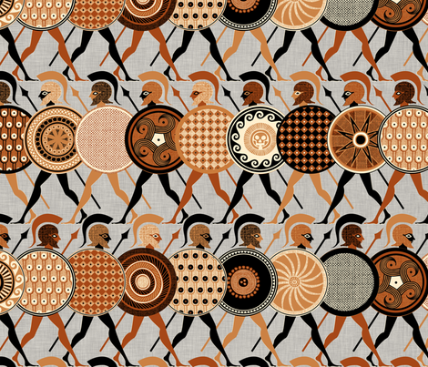 Hero fabric by spellstone on Spoonflower - custom fabric