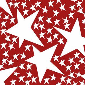 Stars Red 4