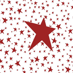 Stars Red 6