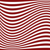 Waving Bars Red
