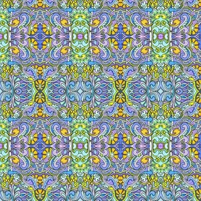Lavender and Aqua Symphony