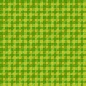 Leaf-Green_and_Apple-Green_Quarter-inch Checks