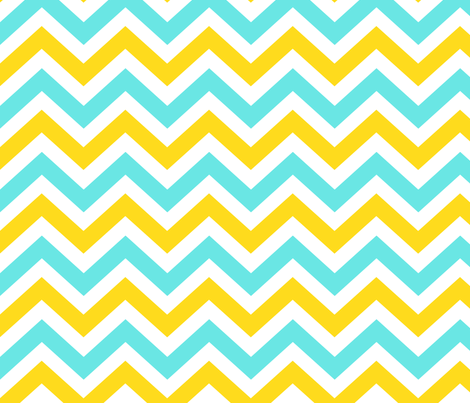 Ziggy Minty Citrus fabric by natitys on Spoonflower - custom fabric