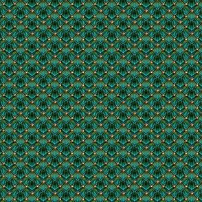 scales_and_beads peacock green