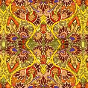 Days of Saffron Paisley