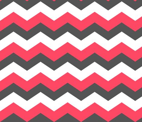 Chevron Grey Pink fabric by natitys on Spoonflower - custom fabric
