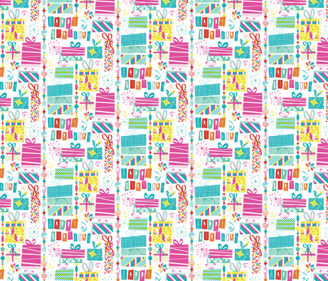 Happy Presents fabric by demigoutte on Spoonflower - custom fabric