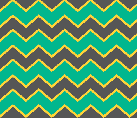 Ziggy Minty fabric by natitys on Spoonflower - custom fabric