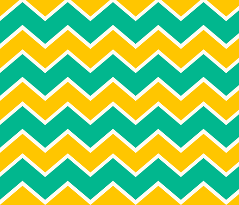 Ziggy Citrus fabric by natitys on Spoonflower - custom fabric