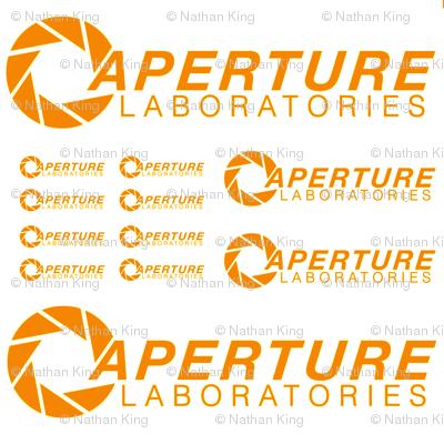 Orange Aperture Portal