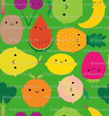 Fruit Bowl (green)