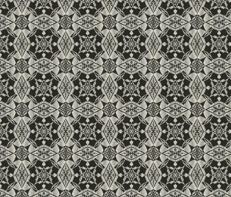 Night Silver fabric by because_patterns on Spoonflower - custom fabric