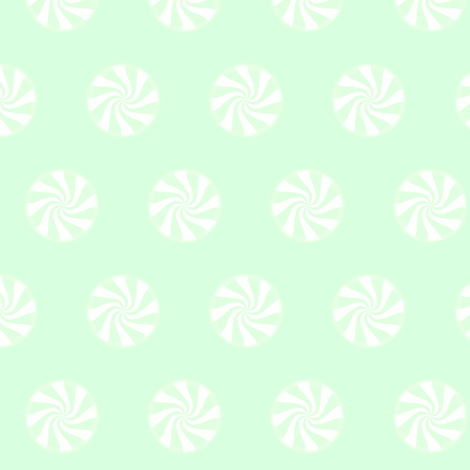 MINT SWIRLS fabric by bluevelvet on Spoonflower - custom fabric