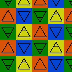 Elemental Symbols Bright