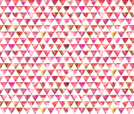FLORAL FLOWWW pink fabric by biancagreen on Spoonflower - custom fabric