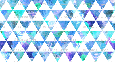 FLORAL FLOWWW blue