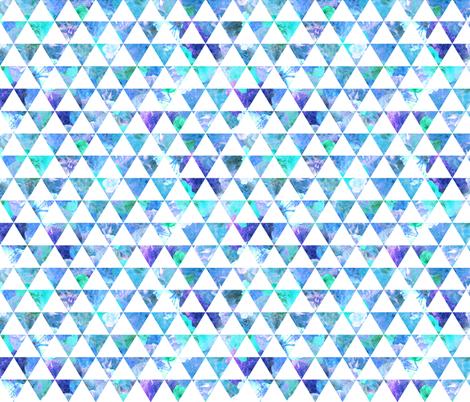 FLORAL FLOWWW blue fabric by biancagreen on Spoonflower - custom fabric