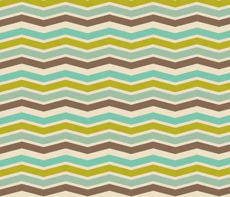 Ziggy Beachy Wave fabric by natitys on Spoonflower - custom fabric