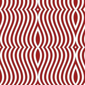 Waving Bars Red 4
