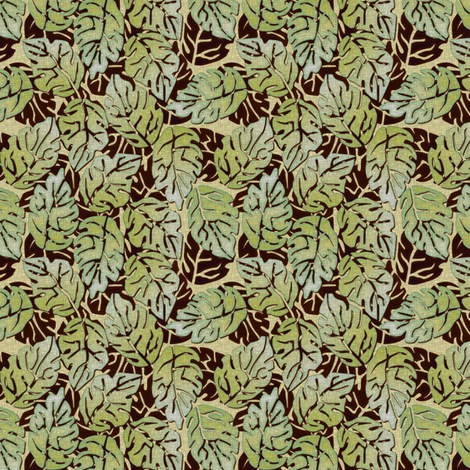 leaves apart fabric by glimmericks on Spoonflower - custom fabric