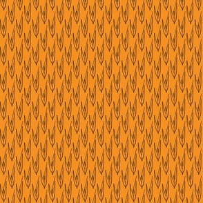 Agrostis exarata orange