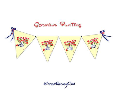 Geranium Bunting