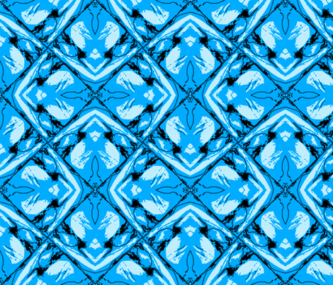 resized_blue_B_2031071_45_2x2_pinwheel_crop_frosty_road_ fabric by khowardquilts on Spoonflower - custom fabric