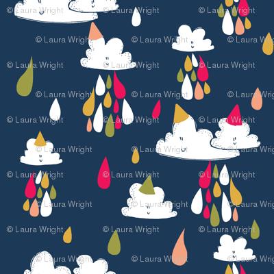 birthday raindrops