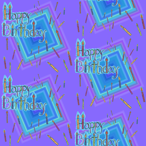 HappyBirthday To You! fabric by joonmoon on Spoonflower - custom fabric