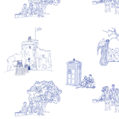 Tardis Toile
