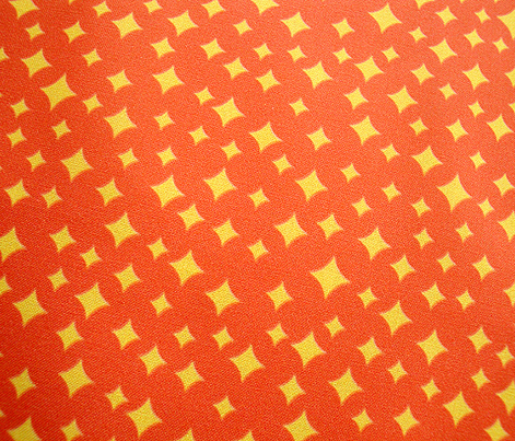 Airwaves (Yellow on Red)