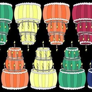 Rainbow of Cakes