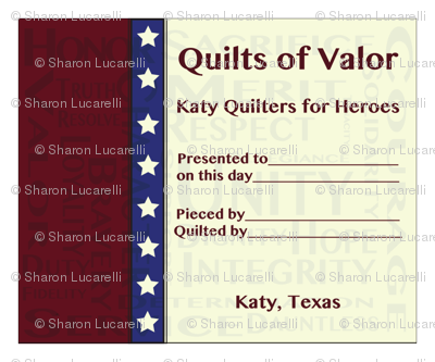 QOV_Katy Quilters for Heroes