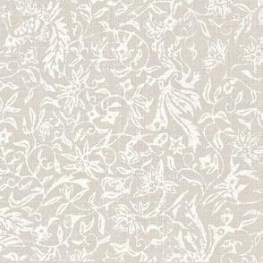 Bird of Paradise- hint of lavender, ivory