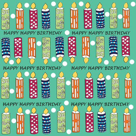 Birthday_Joy fabric by createdgift on Spoonflower - custom fabric