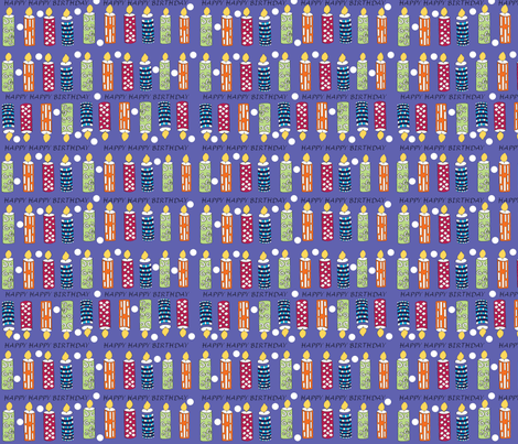 Birthday_Joy3 fabric by createdgift on Spoonflower - custom fabric