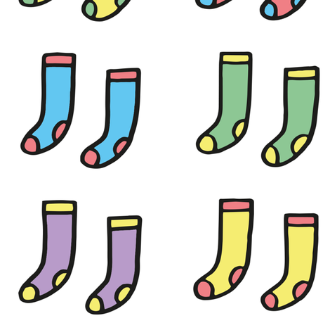 socks fabric by philippittam on Spoonflower - custom fabric