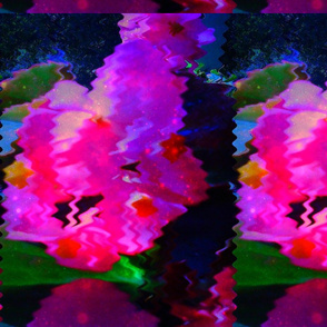 Pink Flowers In Water