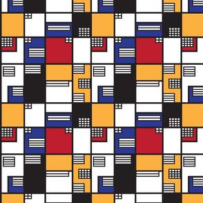 If Mondrian was an Architect - Medium