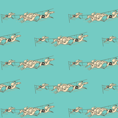 The Tiffany Racers fabric by ragan on Spoonflower - custom fabric
