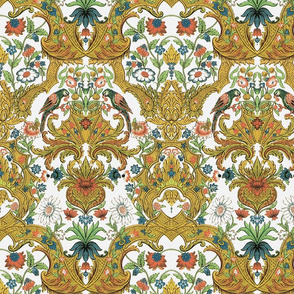 Parrot Damask ~ Bright &amp; Bold