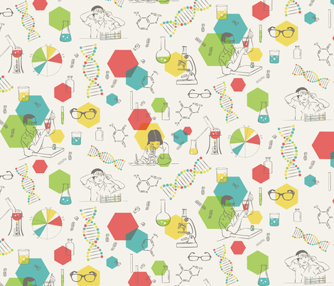 Color Code fabric by minimiel on Spoonflower - custom fabric