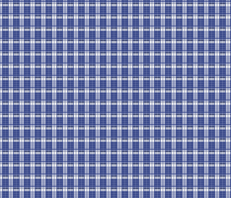 Police Box_Plaid_2_small fabric by morrigoon on Spoonflower - custom fabric