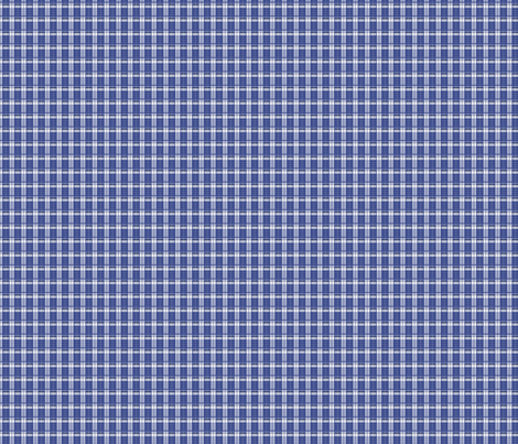 Police Box_Plaid_2_xs fabric by morrigoon on Spoonflower - custom fabric