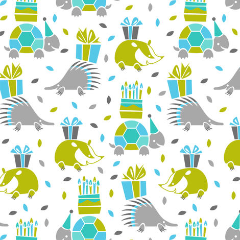 Lets go to the party fabric by cjldesigns on Spoonflower - custom fabric